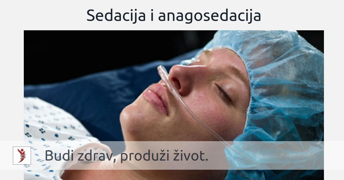 Sedacija i anagosedacija