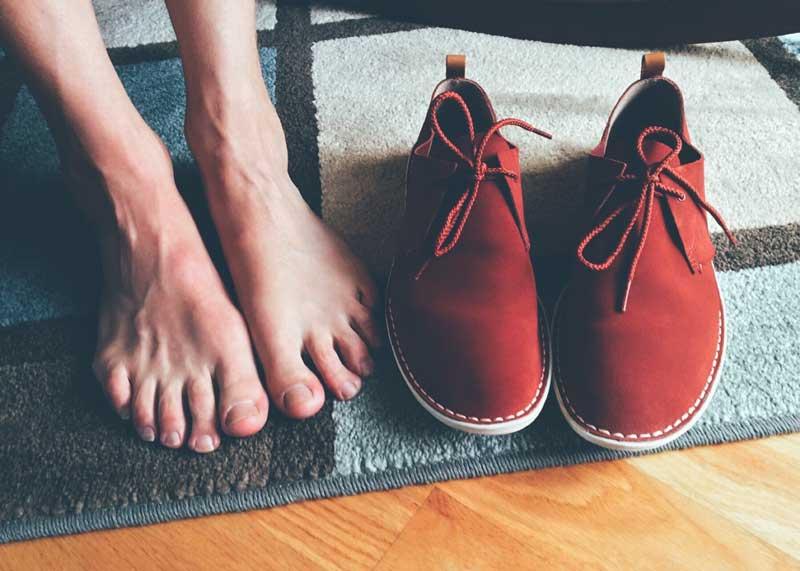 ukloniti smrad iz obuće