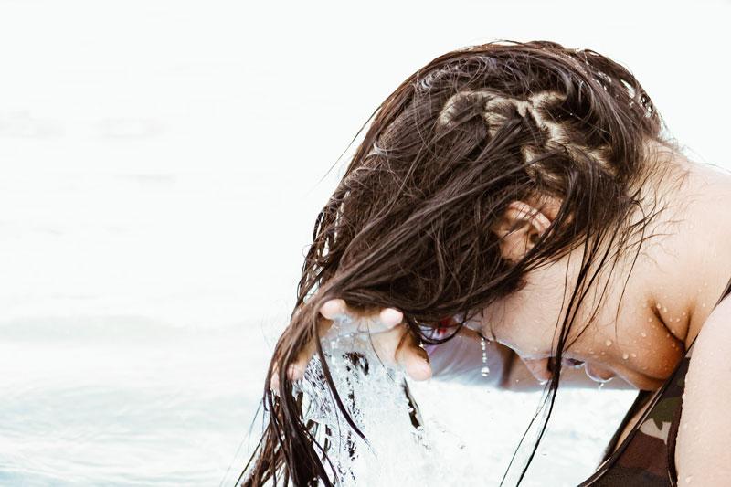 tretman kose vrućim uljima