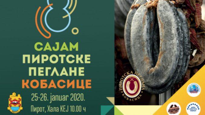 Pirotsku peglanu kobasicu će na sajmu predstaviti 40 proizvođača 1