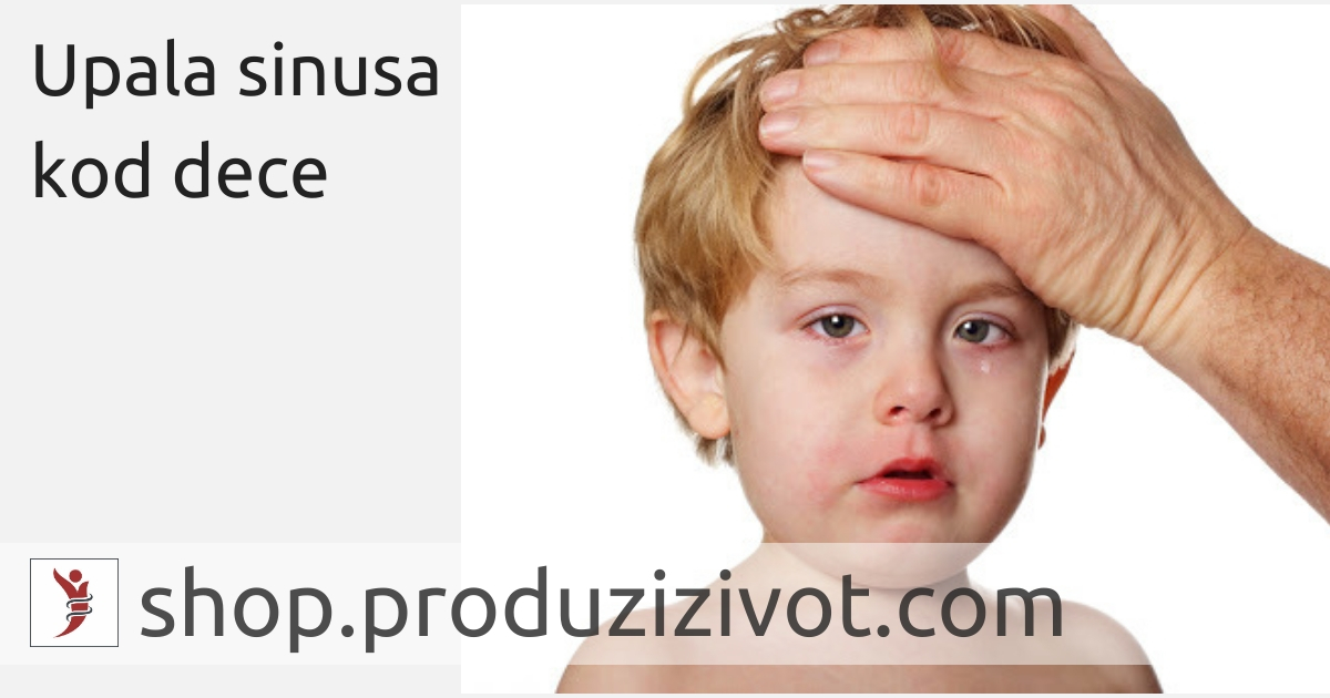 Upala sinusa kod dece; FOTO: http://www.westervillepediatricspecialists.com/blog/post/how-to-tell-the-difference-between-sinusitis-and-a-cold.html