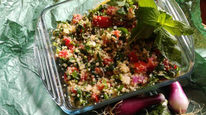 Tabule salata sa bulgurom (recept) 1