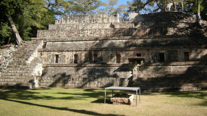 Honduras: Stele kraljeva Maja u Kopanu 1