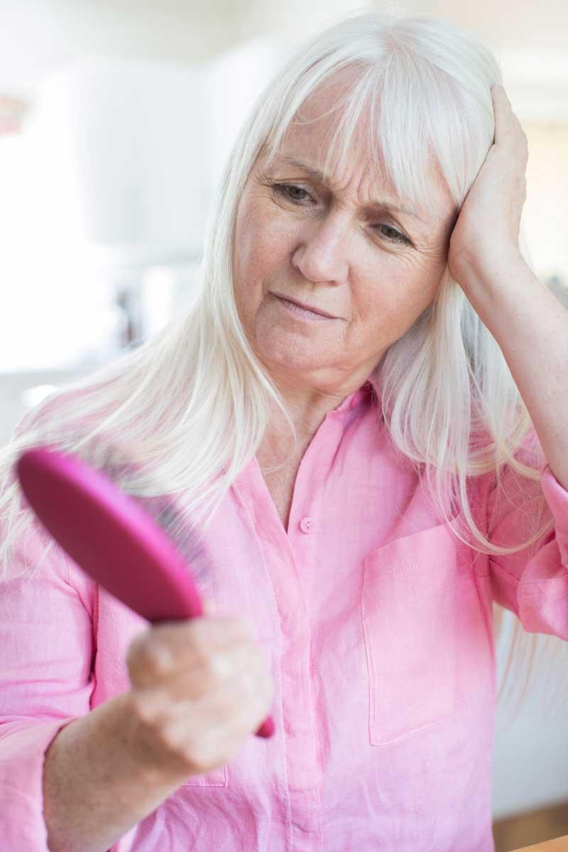opadanje kose u klimaksu