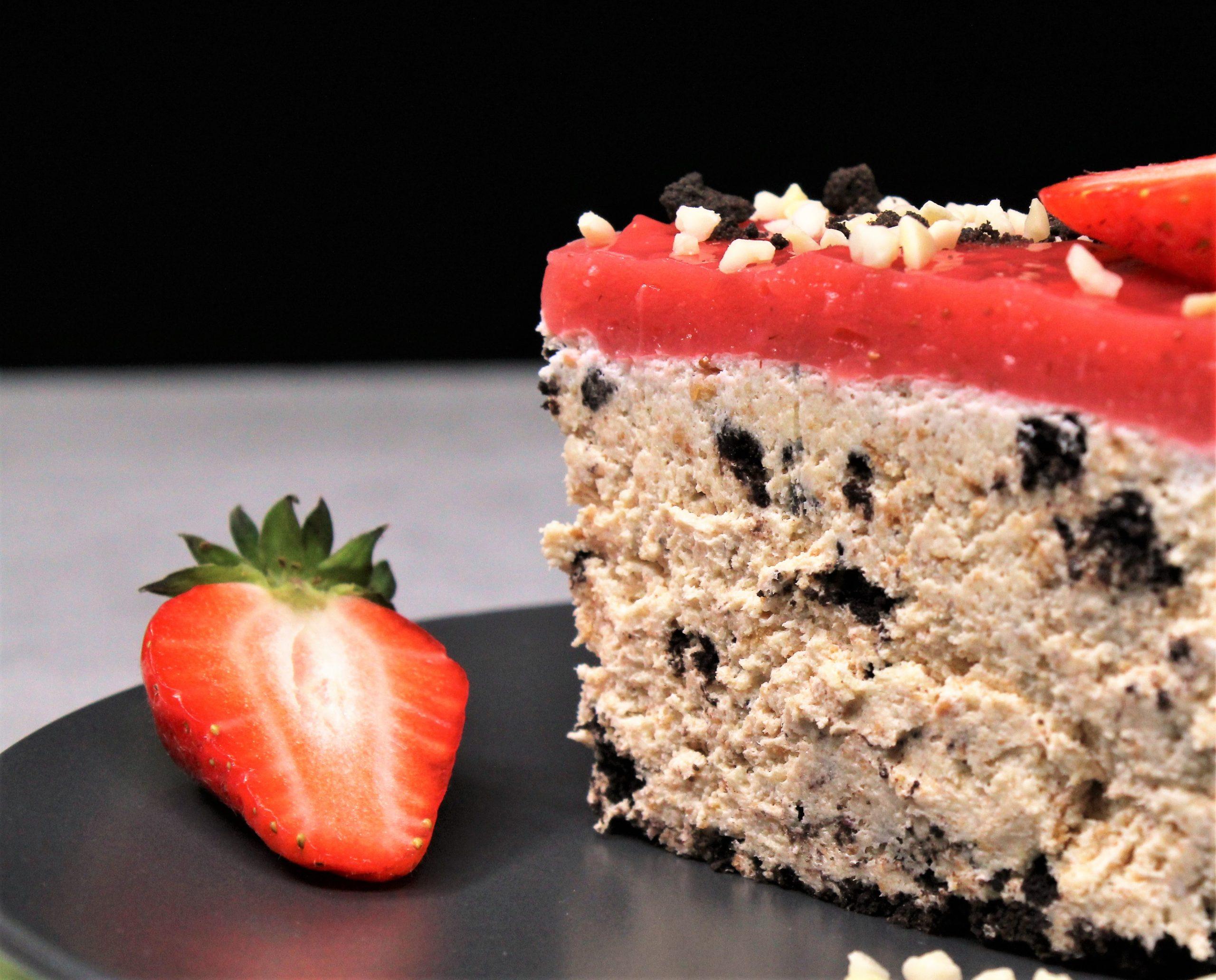 Recept nedelje: Torta lenja žena sa jagodama 2