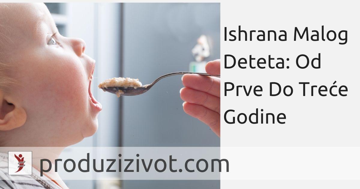 Ishrana Malog Deteta: Od Prve Do Treće Godine; FOTO: https://www.insider.com/when-can-babies-eat-baby-food